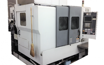Mori Seiki SV with 4th Axis Pallet System